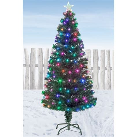Snowtime Snowbright Colour Changing LED Christmas Tree