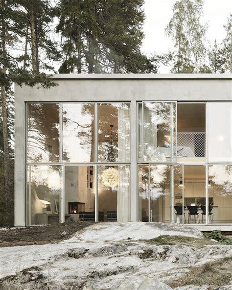 white in swedish einfamilienhaus bei stockholm die siebte wand