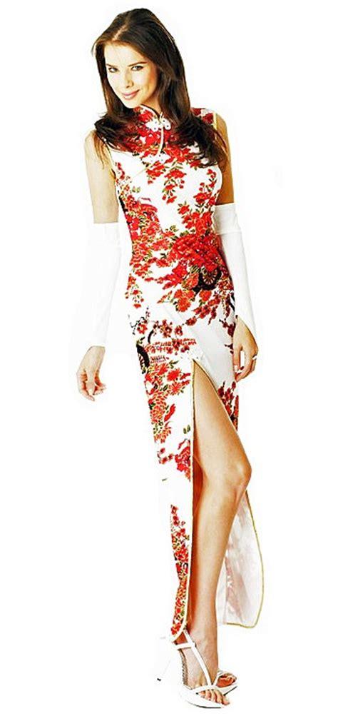 Cheongsam Dress White white cheongsam dress cheongsam qipao dresses lionella