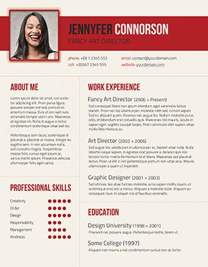 fancy resume templates resume resume ideas