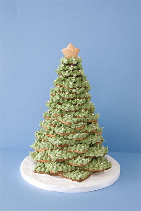 how to make cookie christmas tree cake for kids tree of cookies recipe dishmaps