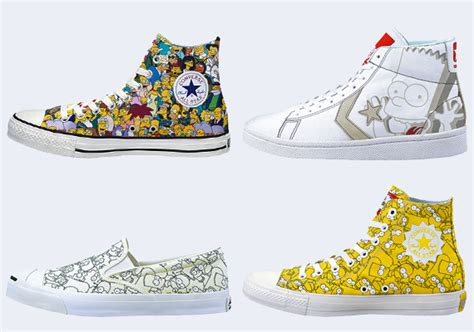 Harga Converse X The Simpsons the simpsons x converse 2014 collection