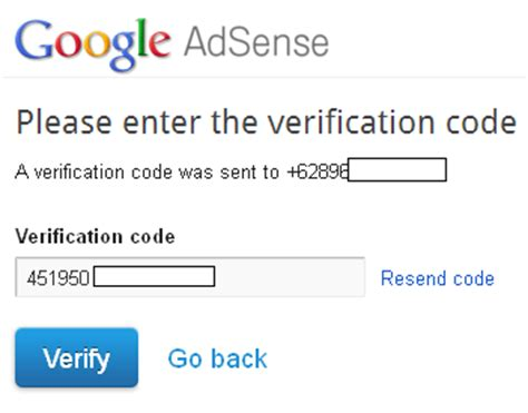 adsense verification code cara daftar google adsense terbaru tips blogger dan computer