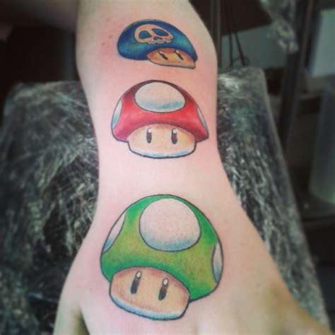 tattoo cartoon mario mario bros cartoon nintendo colour tattoo