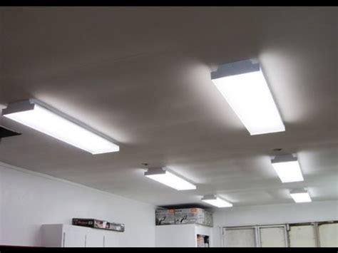 fluorescent lights for cold garage shop lights how i installed them
