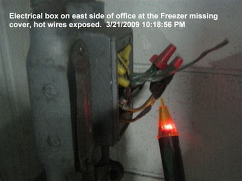 exposed wires electrical wiring safety electrical free engine image