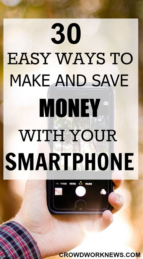 10 Ways To And Make Up by 30 Easy Ways To Make And Save Money With Your Smartphone