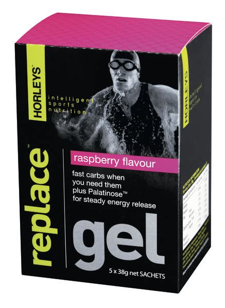 Horleys Replace Gel 5 X 38 Sachet horleys replace gel raspberry 5 x 38g pack images at mighty ape nz