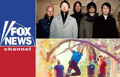 coldplay radiohead fox news calls radiohead the poor man s coldplay news