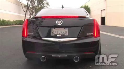 cadillac ats 3 6 exhaust 2013 2015 cadillac ats dual exhaust magnaflow 15194