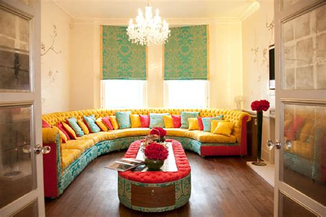 colorful interior 45 lively bright colourful interiors godfather style