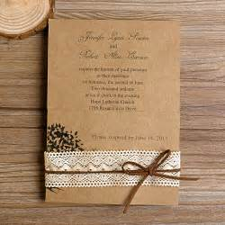 lace wedding invitations best choice for vintage and rustic weddings