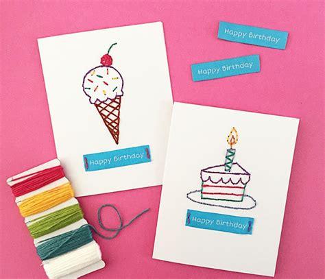 Geburtstagskarten Zum Basteln by Geburtstagskarten Basteln 30 Tolle Ideen Mit Anleitung