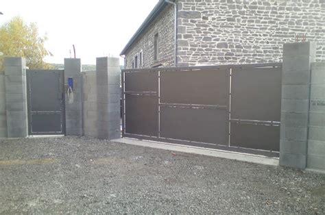 Portail 5 M Coulissant 858 portail acier coulissant 4m portail coulissant autoportant