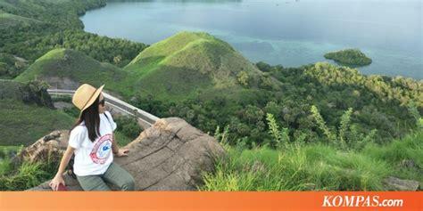 bukit cinta destinasi gratis menikmati pemandangan alam