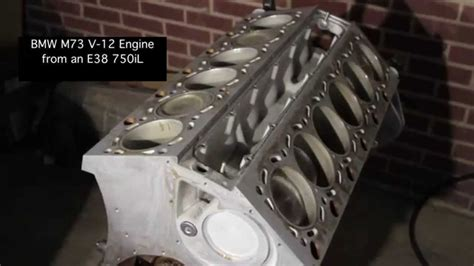 Bmw V12 Engine For Sale by Bmw M73 V12 Engine From An E38 750il