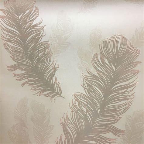 rose gold wallpaper ebay precious metals sirius feathers wallpaper rose gold
