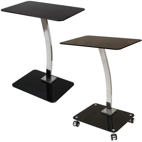 Bed Stand Glass Laptop Computer Netbook Stand Desk Table Tray