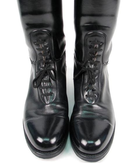laced motorcycle boots dehner patrol motorcycle bal laced leather
