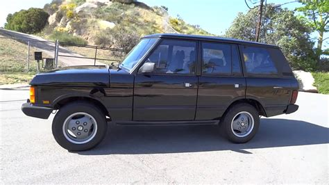 land rover 1990 1990 land rover range rover county first generation 3 9l