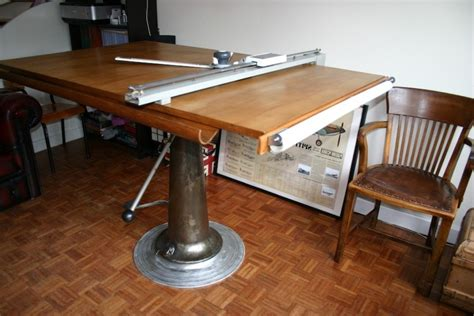 Small Drafting Table With Parallel Bar Diavolet Designs Small Drawing Desk