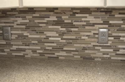 anatolia tile java linear mosaic and glass wall tile 17 best images about kitchen designs on lumber