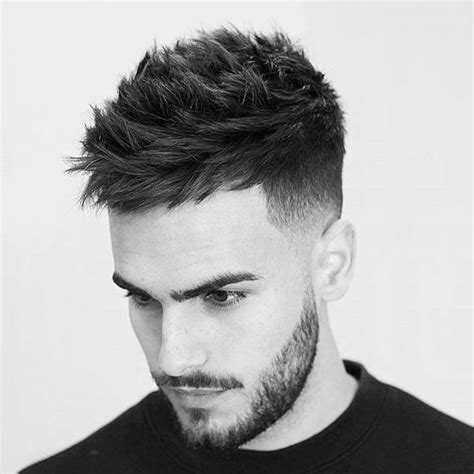 spiked in the front mens hairstyles front spike haircut mens hairstyles up front tops 2016