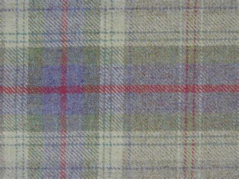 Tartan Fabrics For Upholstery - curtain fabric 100 wool tartan lavender green check plaid