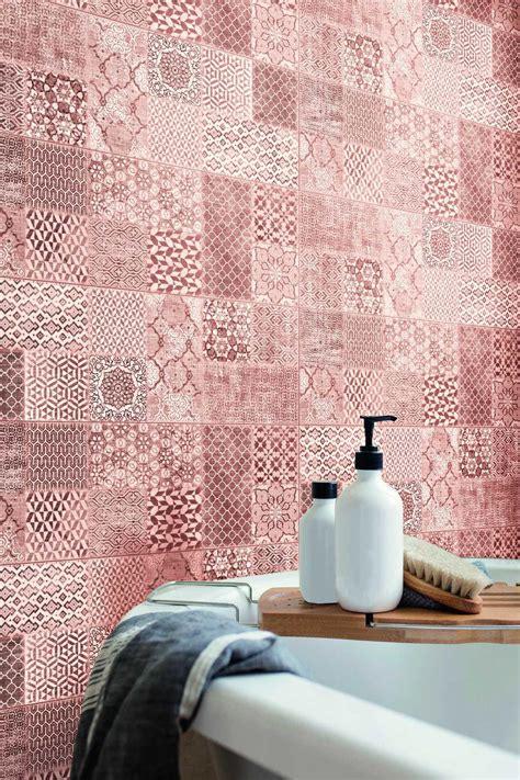 Piastrelle Bagno Rosa - piastrelle rosa per bagno e camere ragno