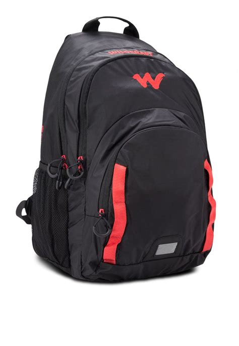 Bag Deal Black wildcraft black polyester college bag