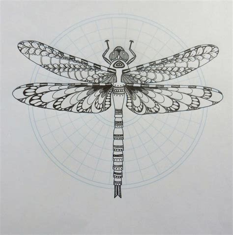 dragonfly tattoo mandala google search dragonfly