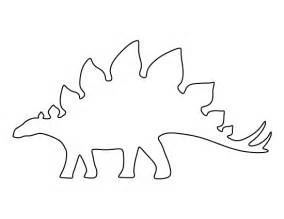 dinosaur templates to print stegosaurus pattern use the printable pattern for crafts