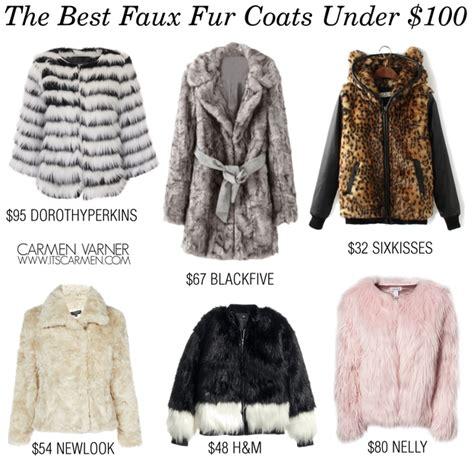 faux fur best best fur coats sm coats
