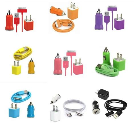 Vztec Dvi Cable For Apple Iphone4 Ipod Touch 25cm Model Vz Ip1303 usb ac wall charger and car charger data cable for apple ipod touch iphone4 4s 4g yellow