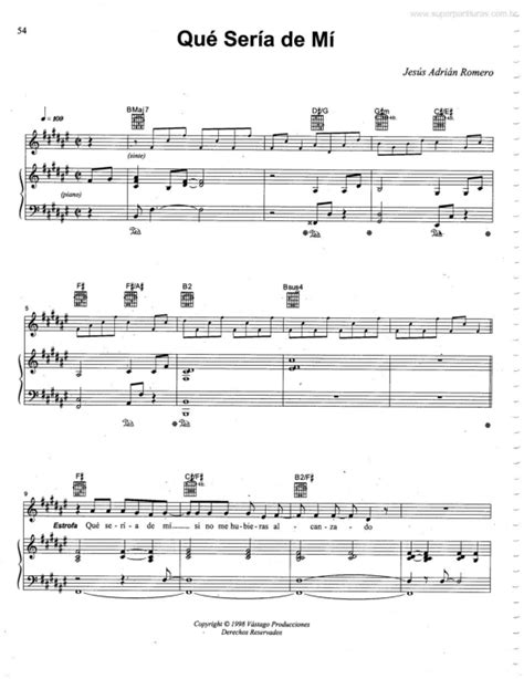 tutorial piano que seria de mi super partituras qu 233 ser 237 a de m 237 jesus adrian romero