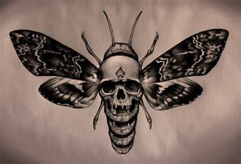 black and grey moth tattoo 35 famous moth tattoos designs