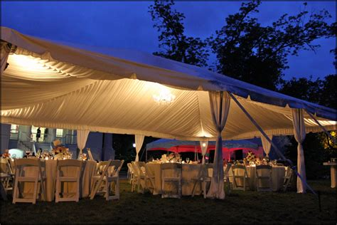 wedding tent lighting wedding ideas