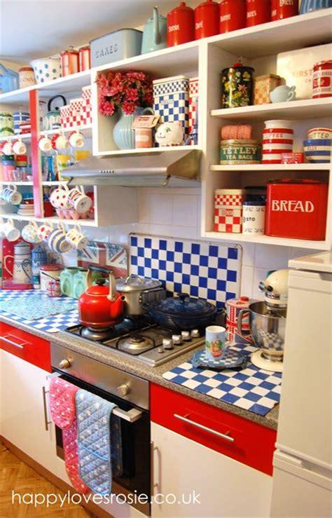 Vintage Kitchen Decor Uk 25 Best Ideas About Retro Kitchens On Vintage