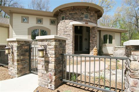 Southwestern Style Homes Southwestern Style Home Traditional Exterior Grand Rapids By Koetje Builders Inc