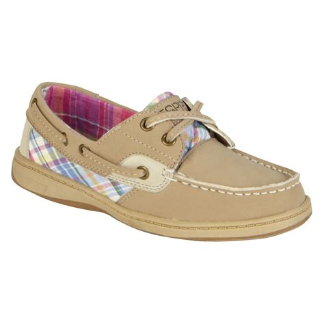 girls boat shoes esprit girl s casual boat shoe crew g tan