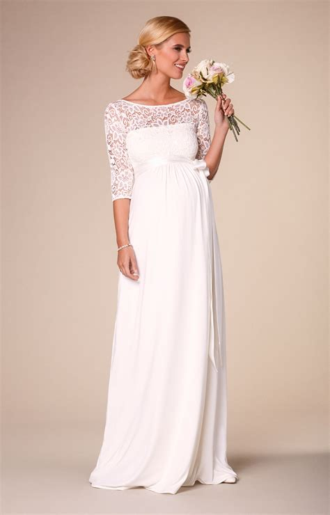 Wedding Dress Clothing by Lucia Maternity Wedding Gown Ivory Maternity