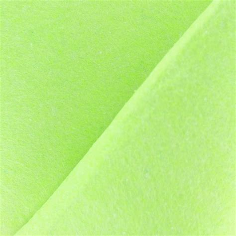 lime x net felt fabric lime green x 10cm