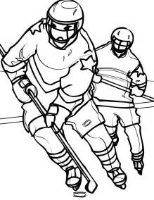 coloring page hockey coloring pages learn to coloring