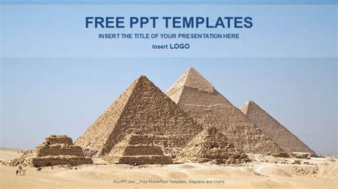 powerpoint themes egypt pyramids giza health powerpoint templates