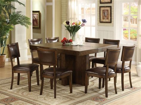 square dining room table for 8 dining room ideas top 20 pictures square dining room