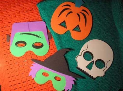 imagenes educativas halloween manualidades como hacer mascaras para halloween en foami home