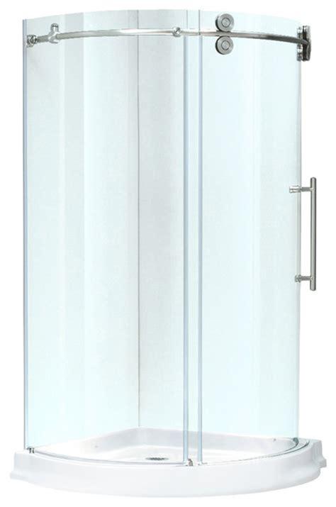 4 Shower Stall Kit by Vigo 36x36 Frameless 5 16 Quot Steel Shower Enclosure