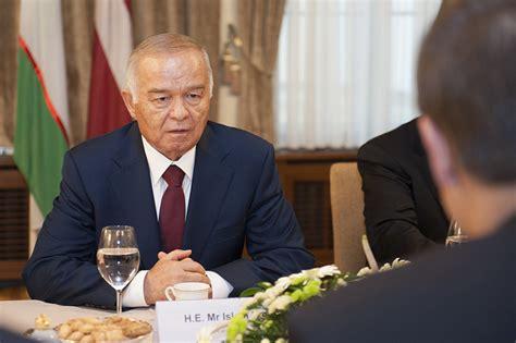 uzbek president islam karimov left placed his daughter guinara meet the late uzbekistan president islam karimov