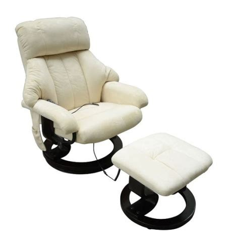 Vibrating Chair by Office Heated Recliner Vibrating Chair W Ottoman