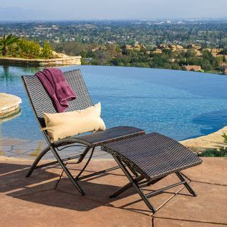 outdoor chaise lounge with ottoman deluxe teak chaise lounge with tray shops ottomans and